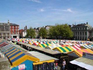 Bustling Norwich Market