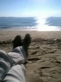 A Hyères c'est la plage en toute saison...