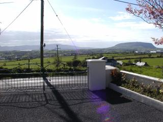 View from Front Gate, Knocknarea and Ballysodare Bay in the backround