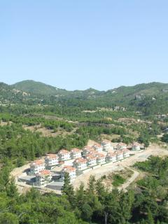 View of villa complex taken from local hillwalk - miles of unspoiled countryside at your door