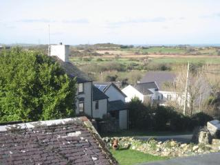 views towards cemaes bay