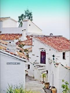 Street View to Casa Sebastian and Casa Perla