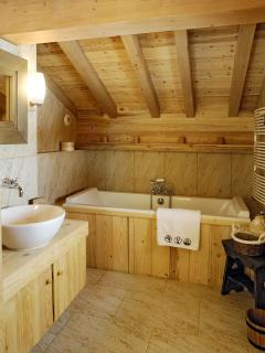 Ensuite bathroom for the master bedroom