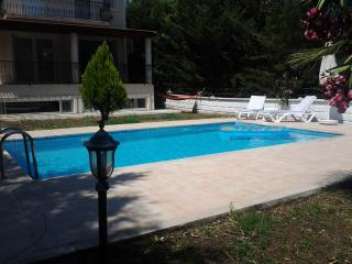Private pool 4x7 m ,  depth: 1.50 m