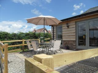 Enjoy a relaxing drink on the terrace after an enjoyable family day out in Cheshire