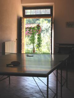 La Casa Colonica - Table Tennis in the Games Room