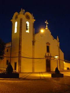 Boliqueime church at night