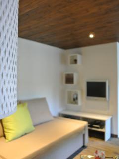 Wohnzimmer im Studio