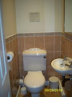 Handy separate cloakroom