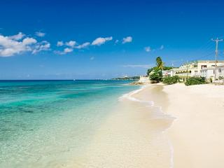 Beach between Speightstown and Coral Sands apartment