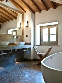 Typical en-suite bathroom