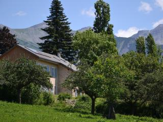 Large mountain retreat in the French southern Alps, Seyne les Alpes
