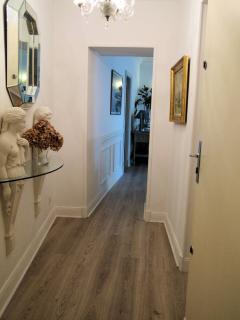 l entrée de l appartement