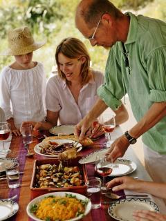 Preparing Arabic/Andaluz for Guests