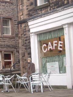 Compo's Cafe in Holmfirth used in 'The Last Of The Summer Wine'