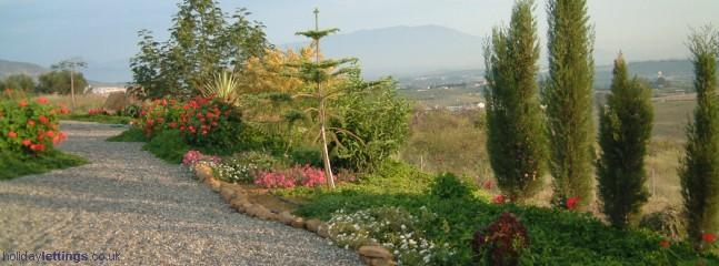 Part of house garden