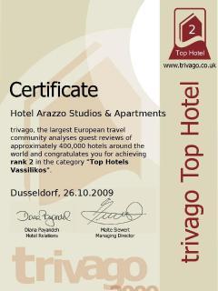 Arazzos Certificate