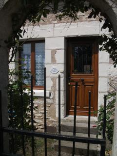 Archway to front door