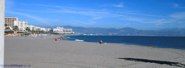 View to Toromolinos January 1008