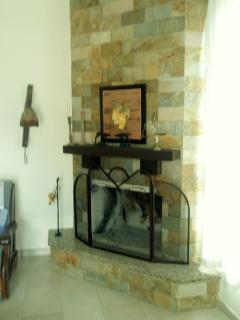 Fire-place(we provide you with fire woods in the Winter months)