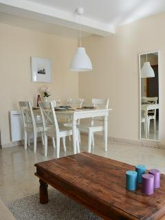 Dining area in a 2 bedroom apartment