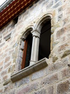 The original restored Venetian Arch Windows.