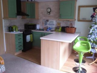 Modern, spacious kitchen/diner with all modern amenities for a comfortable self catered holiday or s