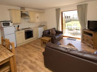 Living Area of Carnedd Cottage at Cerrig y Barcud Holiday Cottages Anglesey