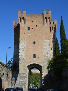 Il cassero on the city walls