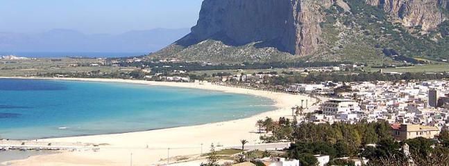San Vito lo Capo, white sand and crystal clear sea just 20 minutes driving
