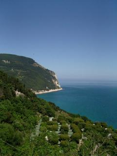 Adriatic coast from Sirolo
