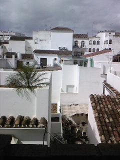 View over the Marbella Old Town roof tops