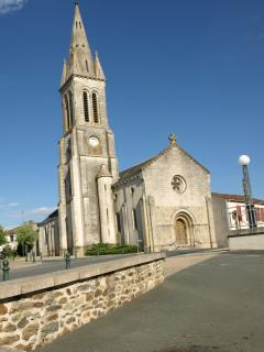 St Hilaire de Voust Church