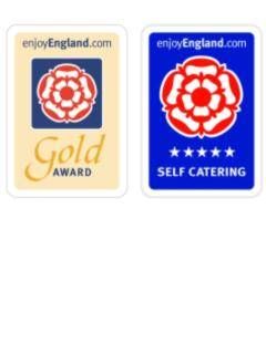 The Barn's Five Star Gold Award