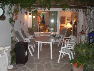 The Patio on an evening