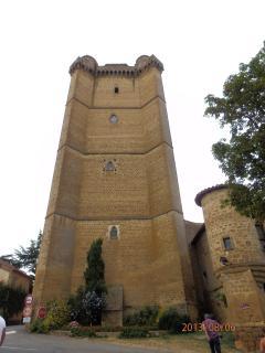 Tower at Bassoues (Bastide village)