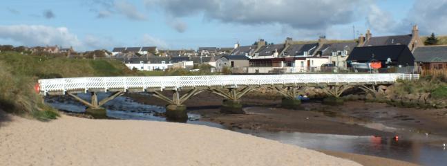 View to Ladies Bridge to get to onto the Beach