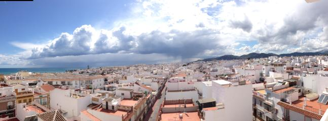 lovely view over Nerja Town