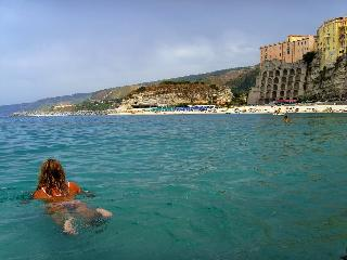 Swimming in Tropea
