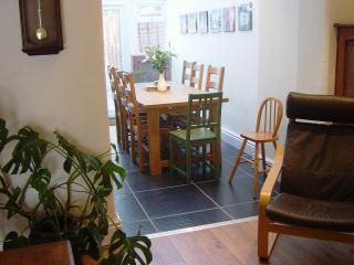 View into dining conservatory