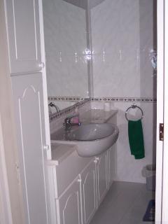 En-Suite Bathroom (bath with shower not shown)