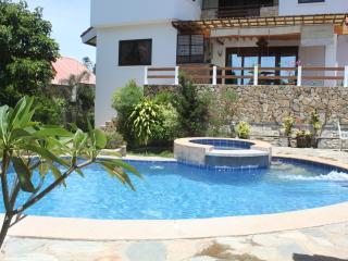 A full-service mansion-style villa