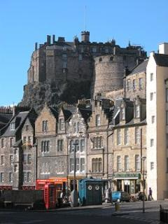 The Castle from the Grassmarket