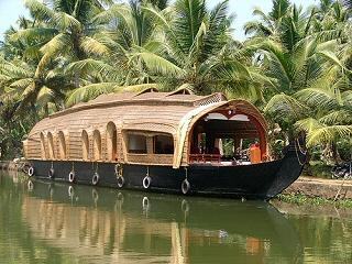 Houseboat on Lake