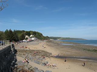 Wiseman's Bridge Beach looking over to Amroth