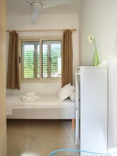 Fourth bedroom: Small downstairs single bed room with adjoining shower room.
