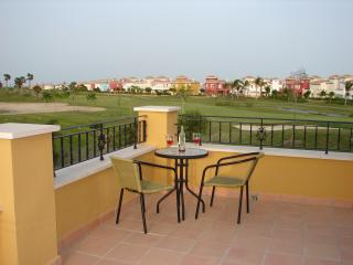Frontline golf villa with private heated pool