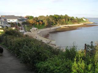 View of Newton's Cove, Nothe Gardens, Fort and 2012's Olympic sailing venue!