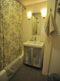 Ensuite full bath for twin bedroom