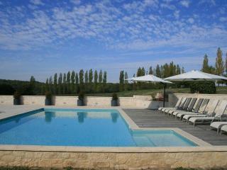 12m x 6m constant depth pool and sunbathing area